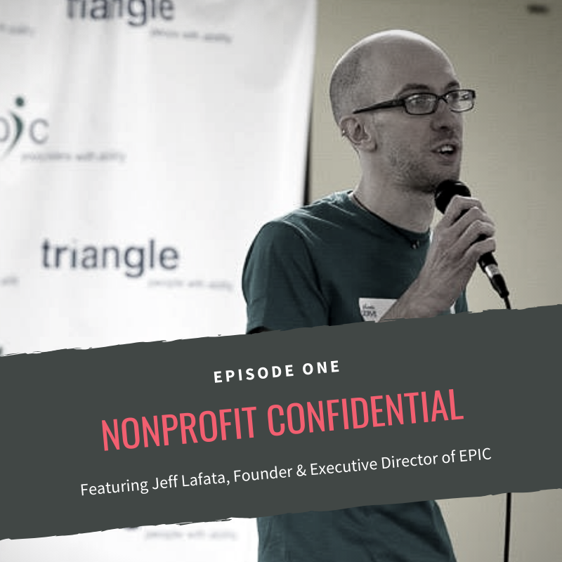 Nonprofit Confidential Episode 1 IG post