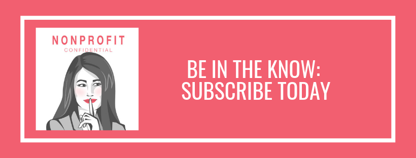 subscribe to nonprofit confidential